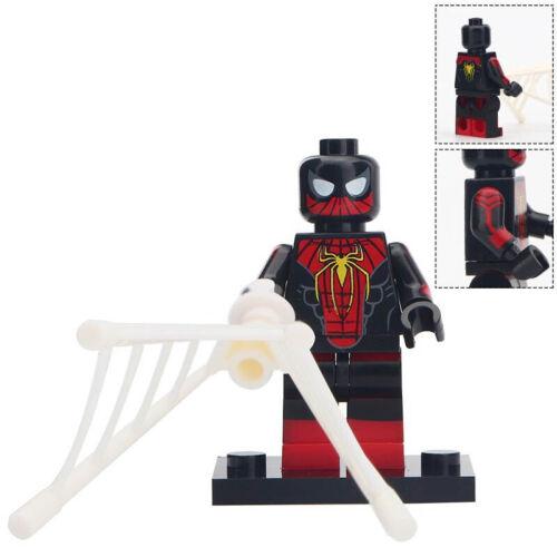 Black Superman Red Superman Zombie Spiderman Tony Stark Lego Moc Minifigure Toys