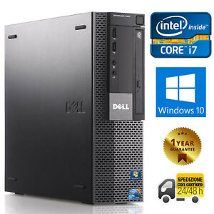 Details about PC Computer Desktop Refurbished Dell 980 Quad Core i7 8GB  250GB Windows 10