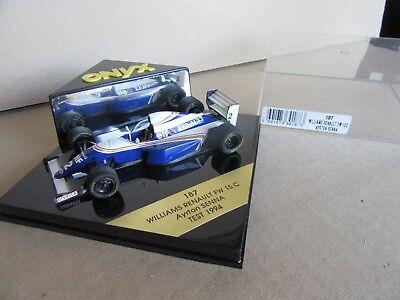 542g Onyx 187 Williams Renault Fw15c Senna # 2 Test 1994 F1 1:43 Aroma Fragrante