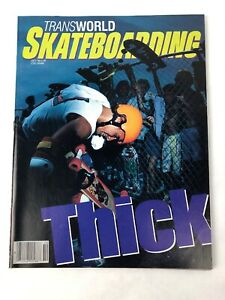 VINTAGE-SKATEBOARD-TRANSWORLD-MAGAZINE-OCTOBER-1985-TONY-HAWK-CENTERFOLD