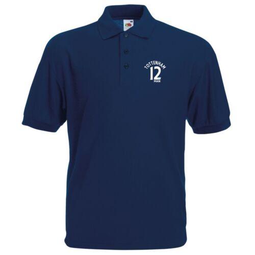 12th Man Tottenham Fan Polo Mens