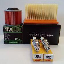 Plugs Filter Kawasaki KVF 650 Brute Force 2012 Ipone 10.4 Service Kit Oil