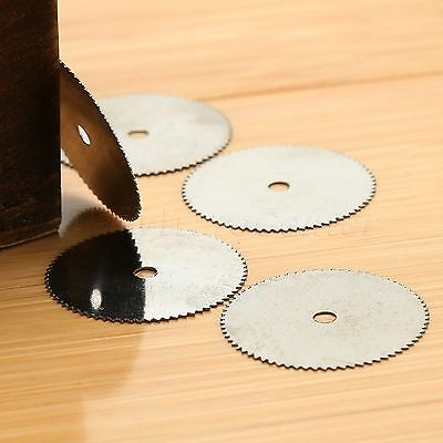 20pcs 22mm Stainless Steel Disc Wheel Saw Blades Cutting for Power Rotary Tools