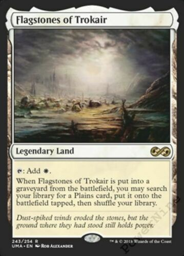 Land uma Ultimate Masters Mtg Magic Rare 1x x1 1 Flagstones of Trokair