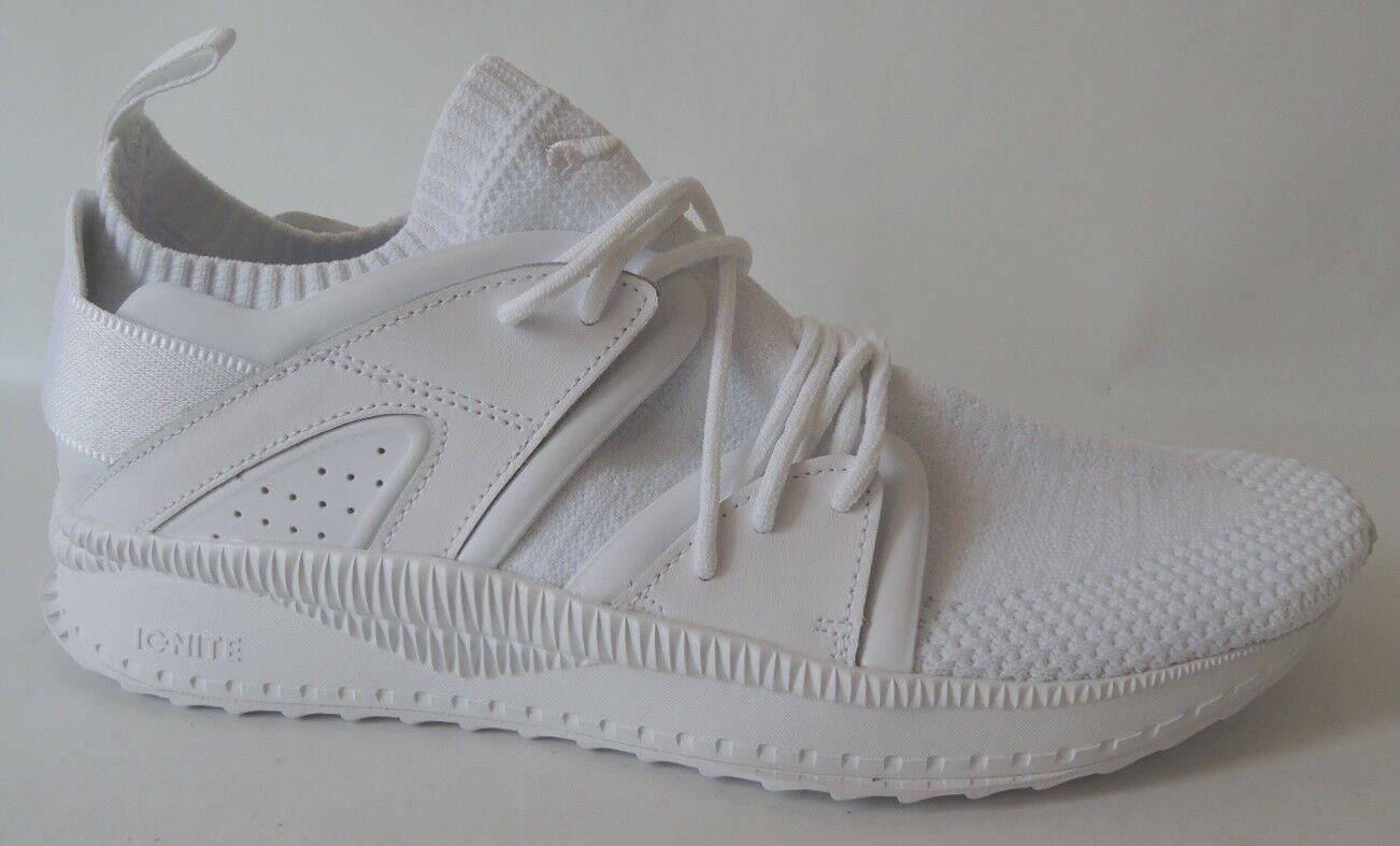 NEU Puma Ignite Tsugi Blaze Evoknit Gr. 45 Socken Schuhe Sneaker 364408-04 WEISS