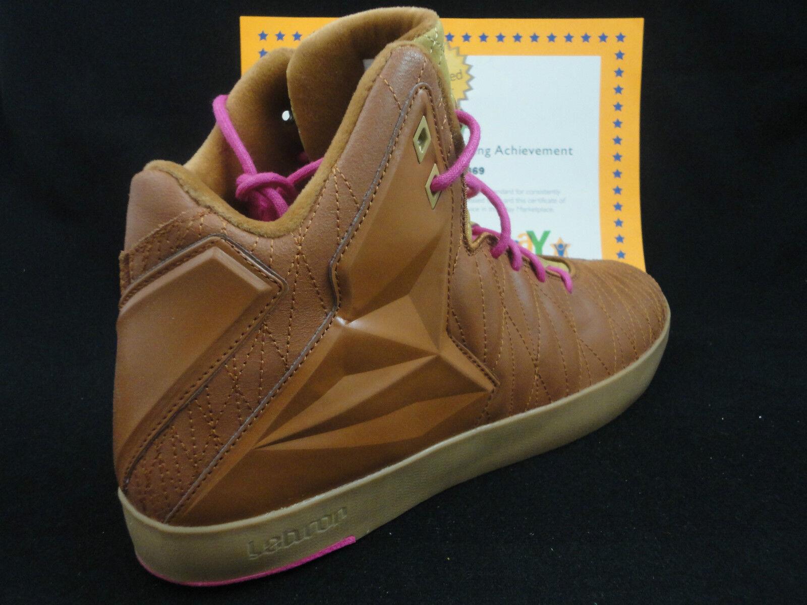 Nike lebron xi lo stile di vita del nuovo galles del sud, nocciola, 2013, sz - 8