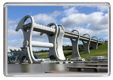 Falkirk Wheel Fridge Magnet 01