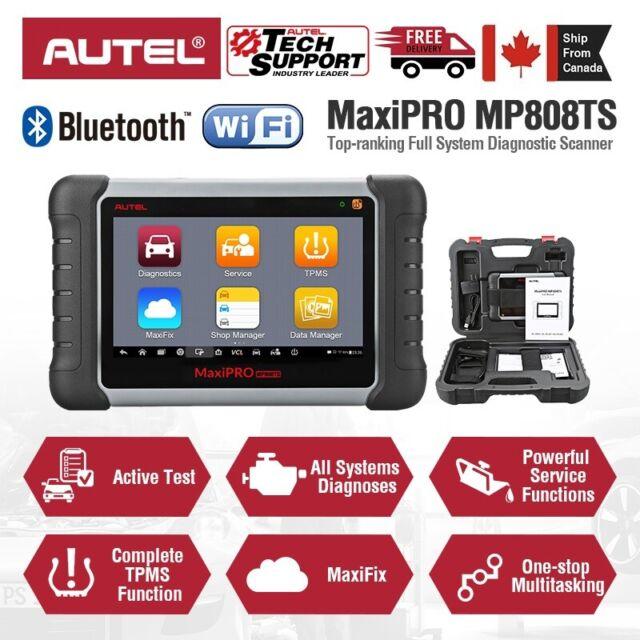 Autel MP808TS OBD2 Car Diagnostic Scan Tool IMMO TPMS WIFI Bluetooth Active Test