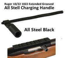 Blued Matte for sale online Oversized Ruger 10//22 Charging Handle by Superior Concepts