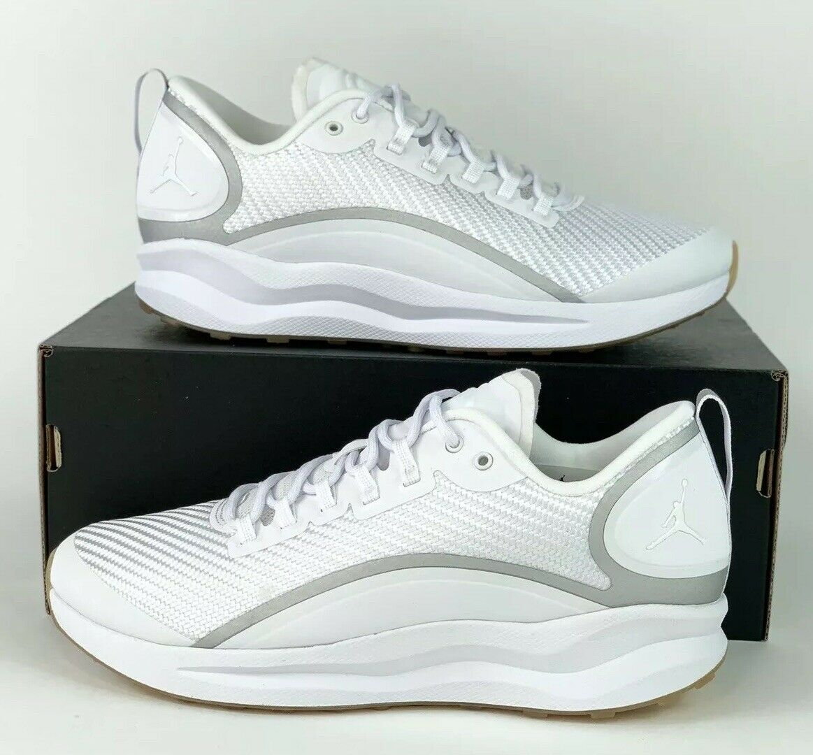 Nike Air Jordan Zoom Tenacity Running shoes White Gum AH8111-115 Sz 8