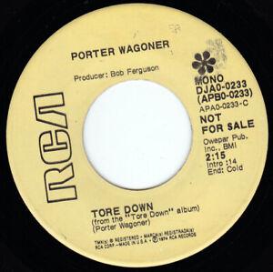"""PORTER WAGONER - Tore Down 7"""" 45"""