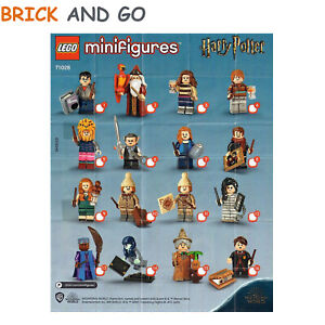 LEGO-Figurine-Minifigure-71028-Serie-Harry-Potter-2-Series-Au-Choix-NEUF-NEW