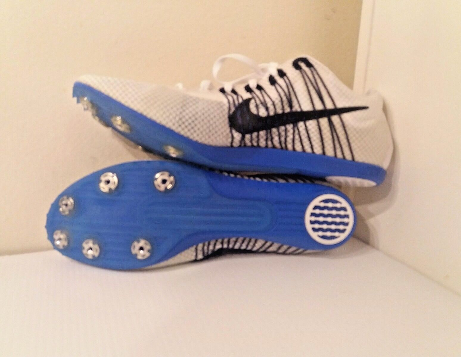 NEW Spikes Nike Zoom Victory 2  Uomo Track Field Spikes NEW Mid Distance Running -555365-100 74d095