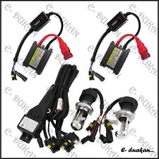 H4  55W HID XENON HEAD LIGHT KIT FOR ALL CAR 6000K  HI/ LOW BEAM