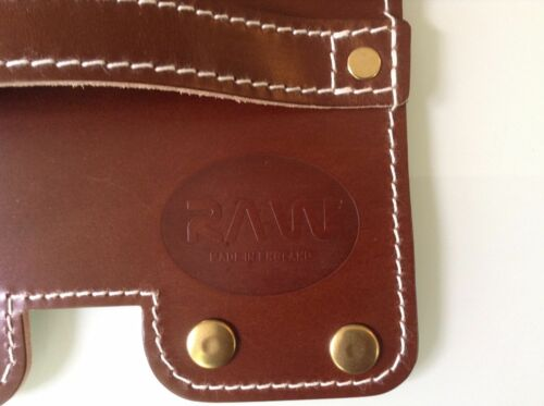 The Original Brompton leather carry handle made from English saddlery Leather