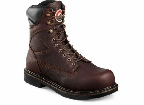 rojo Wing Irish Setter 8  Workbota - 83824 Farmington Punta Seguridad
