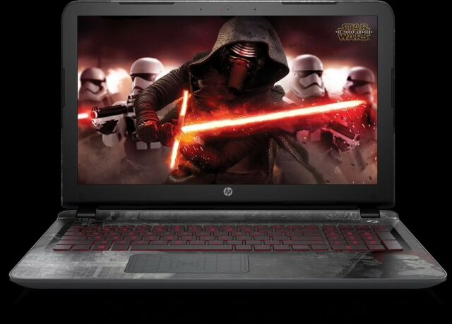 HP Star Wars Special Edition 15-an050nr 15.6in. (1TB, Intel Core i5 6th Gen., 2.8GHz, 6GB) Notebook/Laptop - Gray - 15-AN050NR