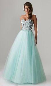 Green Princess Prom Dress