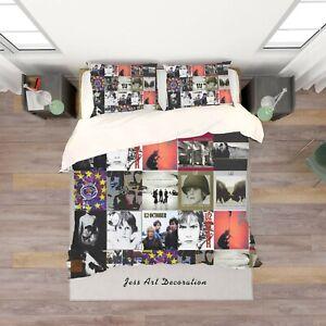 3D-Rock-Band-U2-Quilt-Cover-Duvet-Cover-Comforter-Cover-Single-264