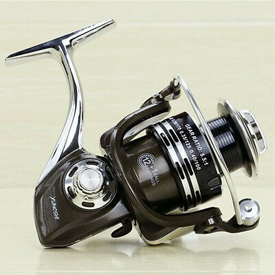 12+1 Ball Bearing 5.5:1 Saltwater Freshwater Spinning Fishing Reel BY1000-7000