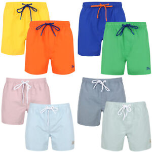 New-Mens-Tokyo-Laundry-Branded-Classic-Soft-Swim-Shorts-With-Pockets-Size-S-XXL