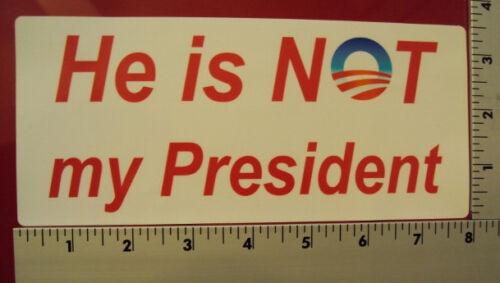 Political Conservative  Anti Obama NRA window bumper sticker decal