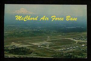 Military-Base-postcard-McChord-Air-Force-Base-Washington-WA-chrome