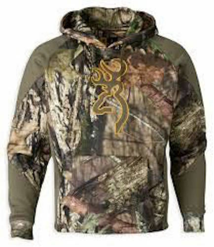 NEW Brauning Hoodie Sz M Camo Wasatch Two Tone II Mossy Oak BreakUp Country Hood
