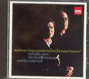 BEETHOVEN-Piano-Concerto-5-Piano-Variations-Emil-GILELS-George-SZELL-EMI