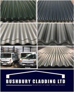 Corrugated Iron Corrugated Steel Roof Sheets Corrugated Roof Cladding Ebay