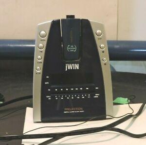 JWIN-JL707-Projection-Alarm-Clock-Radio