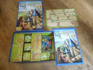Carcassonne Tile-Laying Base Game New Z-Man includes The River and The Abbot