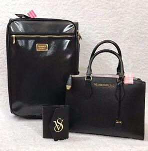 Image Is Loading Victoria Secret 3pc Wheelie Suitcase Luggage Set 100