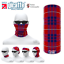 Hamilton clan écossais tartan Multifonctionnel Headwear Bandana