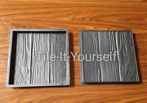 * 2 PCS PLASTIC DRAINAGE CHANNEL CONCRETE PAVING MOULD SLAB FLOOR TILE