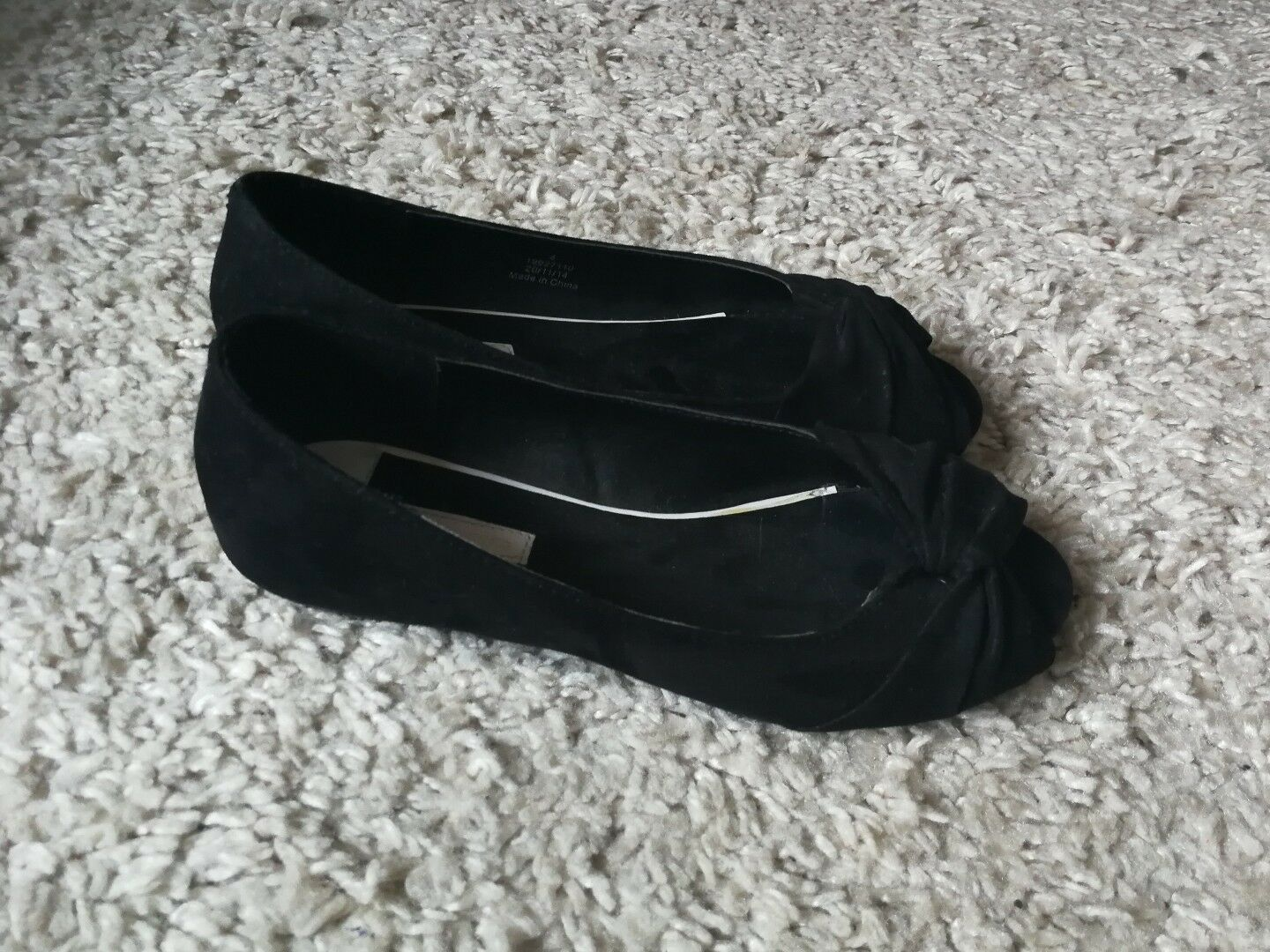 Womens Black Dgoldthy Perkins shoes Size 4