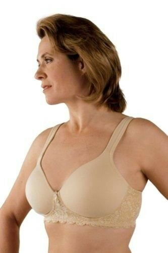 Classique Post Mastectomy Bra 730 Fashion Seamless//Molded Bra with Padded Straps