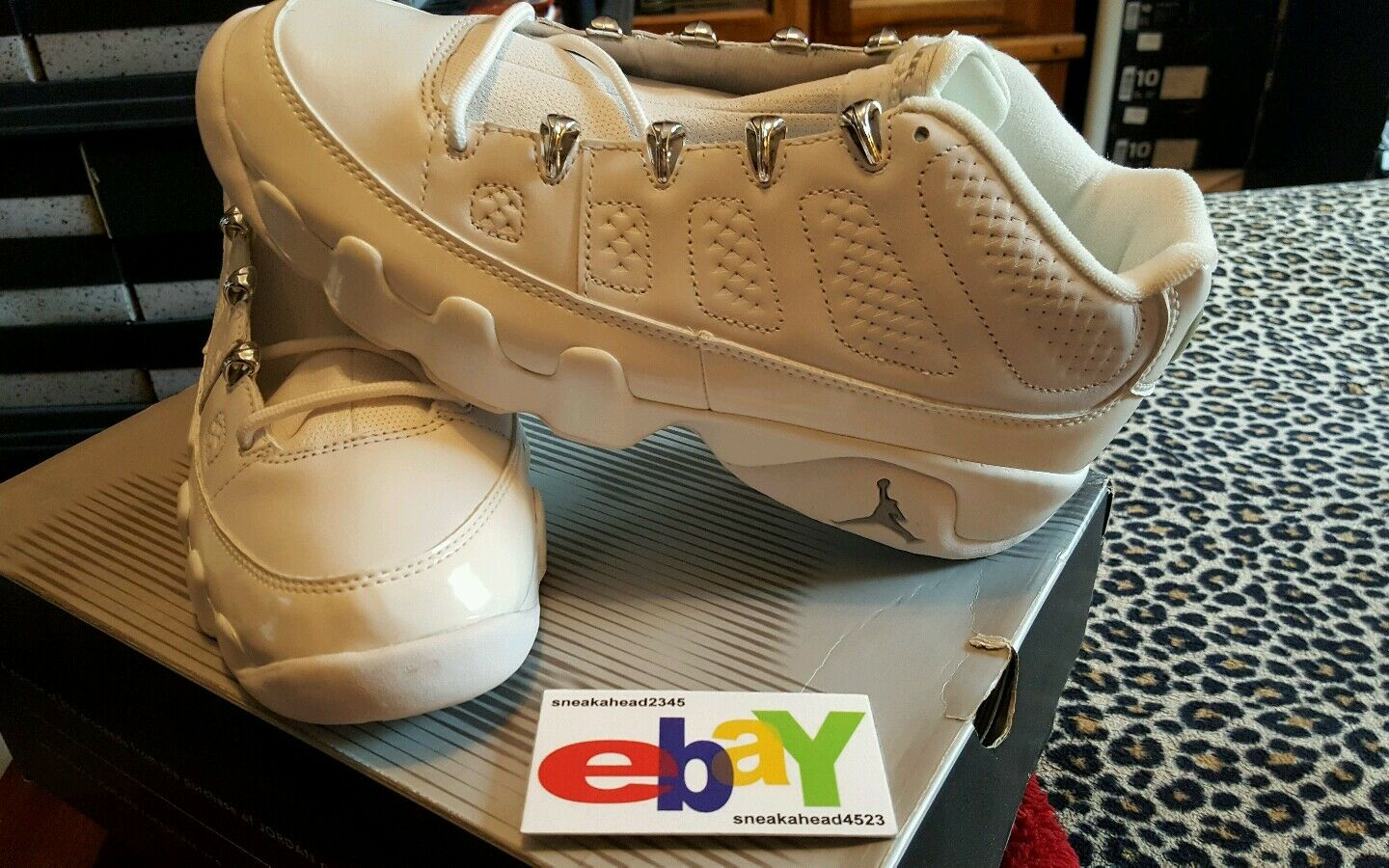 Air Jordan 9 Retro Low OG 4 02 2002 WHITE WHITE-CHROME 303895 111 2018