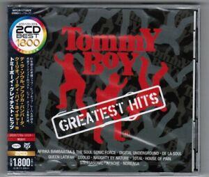 Sealed-Tommy-Boy-Greatest-Hits-VA-JAPAN-CD-WPCR-17188-9-w-OBI-2016-2CD-Best-1800