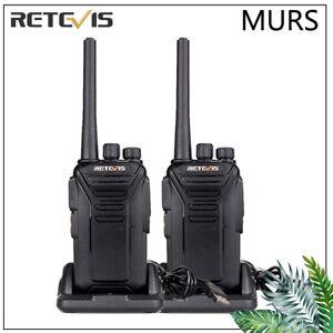 2-Retevis-Walkie-Talkie-twoway-Radio-RT27V-license-free-MURS-Handheld-long-range