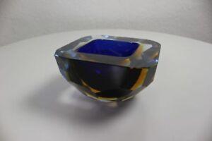 alte-Murano-Glas-Schale-Sommerso-facettiert-vintage-Glass-Italy-50er-60er-Jahre