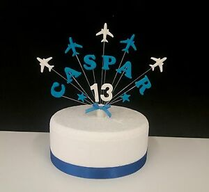 Aeroplane Cake Topper Uk