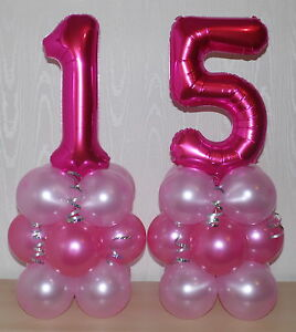 Image Is Loading 15th BIRTHDAY AGE 15 FEMALE GIRL FOIL BALLOON