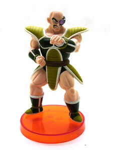 bandai dragon ball z nappa saiyan battle armor statue loose figure