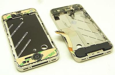 iPhone 4 4G Mittelrahmen Middle Frame Ladebuchse Power Home flex Kamera Komplett