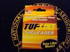 Tuf Line Tufleader Braided Stainless Steel Bite Leader 100 lbs
