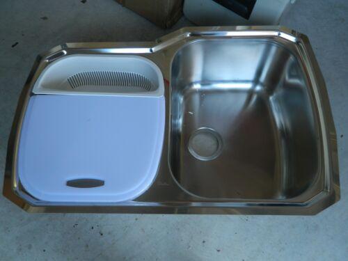 Oliveri 834U 800 Series Double Basin Undermount Kitchen Sink ...