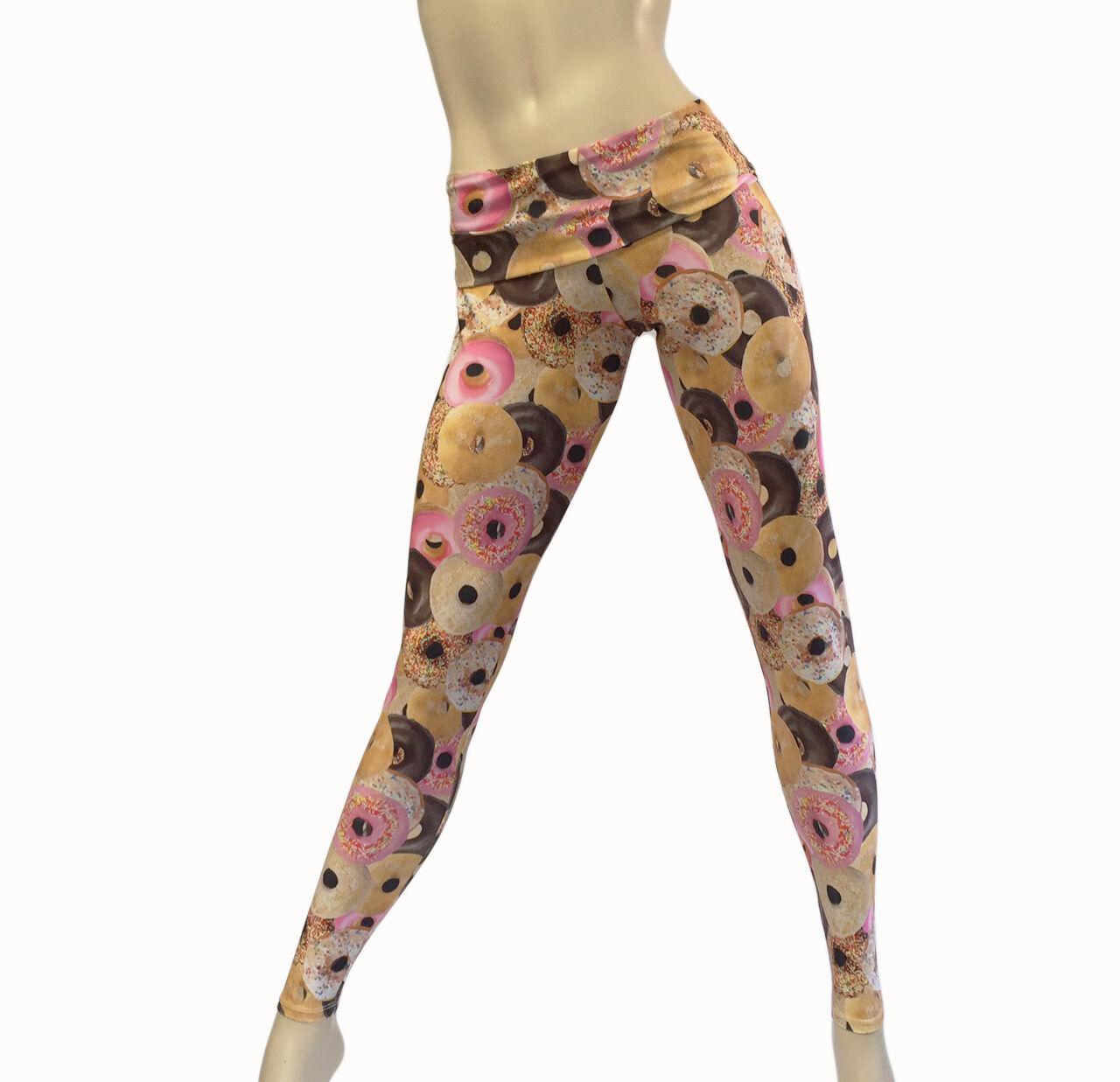 Hot Yoga Pants Donut Pants High Waist Pant Fold Over Legging SXYFITNESS
