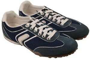 Textile 36 Snake amp; Ladies Up Geox Trainers Leather Navy D1112m Eu Lace Suede TTqwv1nC