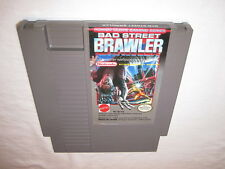 Bad Street Brawler (Nintendo NES) Game Cartridge Excellent